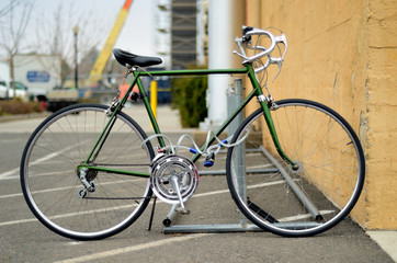 Green sport Bicycle