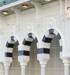 Fototapete - Makkah Kaaba pillars outdoors