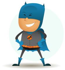Poster Superheroes cartoon-comic-super-hero-six