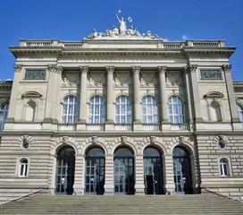 Entrée du Palais Universitaire de Strasbourg
