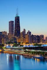 Photo sur Toile Chicago Chicago Skyline.