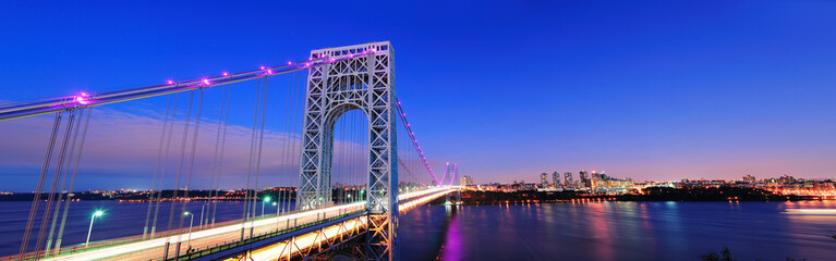 Wall Mural - George Washington Bridge panorama
