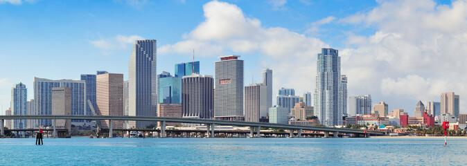 Fototapete - Miami skyscrapers