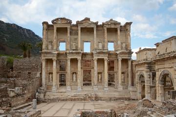 エフェスの古代図書館