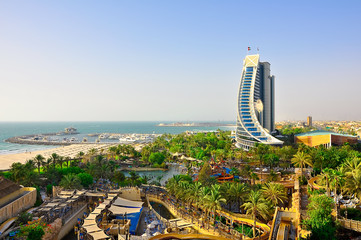 View of Jumeirah Beach. Dubai.