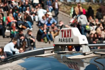 taxi parisien trocadéro