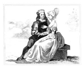 Burgess Pair - begining 16th century