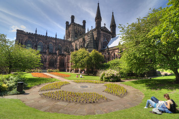 Chester Cathedral, UK. Fotomurales