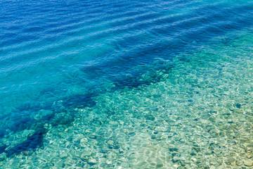 Adriatic sea waves background