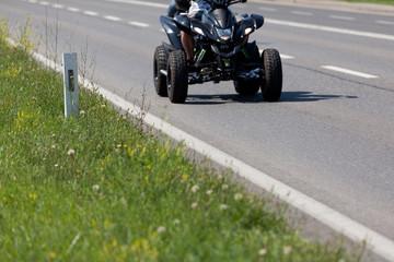 Motorrad Quad