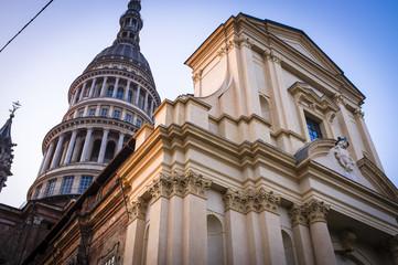 Novara basilica color image