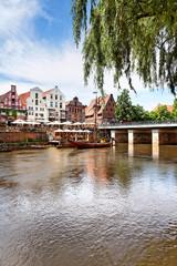 Der Stintmarkt in Lüneburg, Deutschland