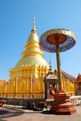 Hariphunchai Temple, Lamphun Province, Thailand