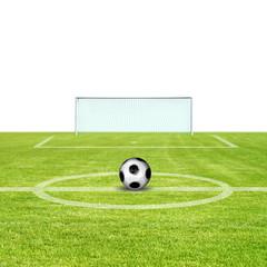 Schöner Fussballplatz