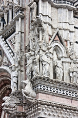 Wall Mural - Toscane - Duomo de Sienne
