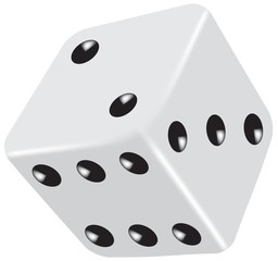 Fototapeta gambling dice vector obraz