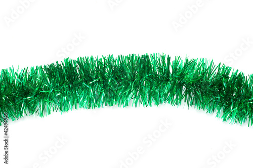 Metallic cords christmas tinsel tassels and tinsel garlands