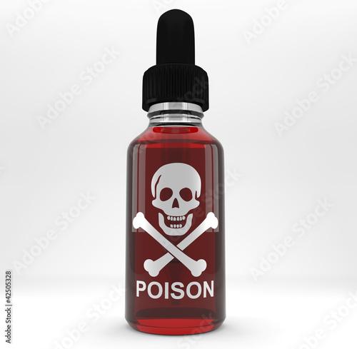 Flacon poison photo libre de droits sur la banque d for Acheter poison