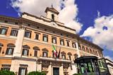 Roma palazzo di montecitorio sede della camera dei for Sede camera dei deputati