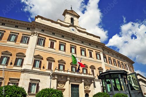 Roma palazzo di montecitorio sede della camera dei for Camera dei deputati palazzo montecitorio