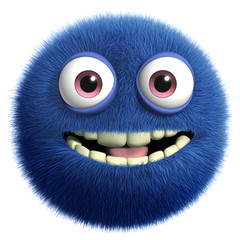 Recess Fitting Sweet Monsters blue cute monster