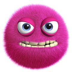 Papiers peints Doux monstres pink toy