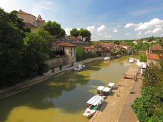 Village de Nérac ; Lot et Garonne ; Aquitaine