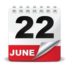 22 JUNE ICON