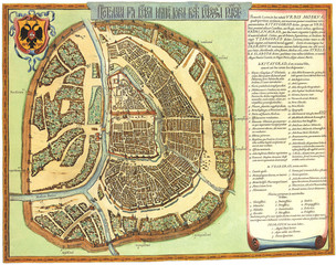 Moscow old map