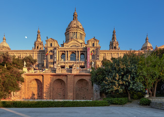 The National Museum in Barcelona