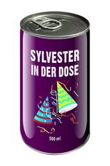 Sylvester in der Dose