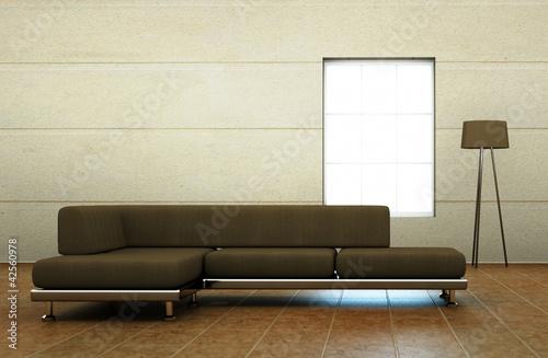 braunes sofa stockfotos und lizenzfreie bilder auf. Black Bedroom Furniture Sets. Home Design Ideas