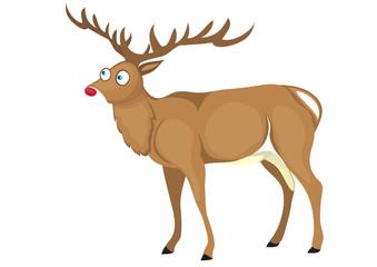 Cartoon deer.