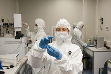 radioactive laboratory