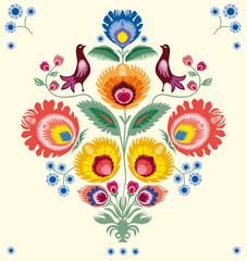 Obraz Kwiaty lowickie - fototapety do salonu