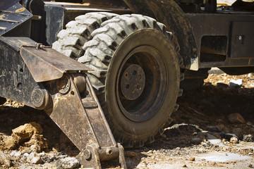 Excavator wheel