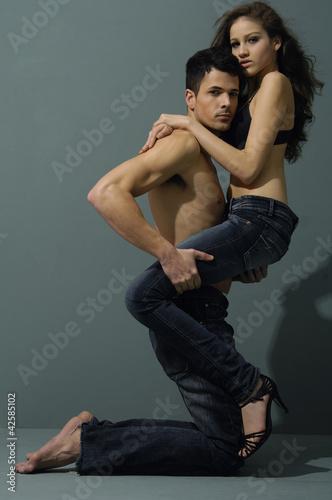 model couple of sexy photos