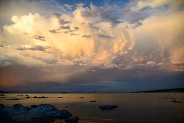 Dramatic Mono Lake Clouds