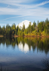 Mount Hood Reflection at Mirror Lake