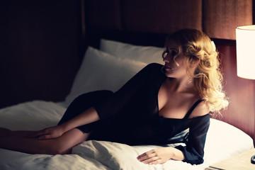 In bedroom