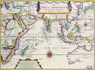 Map of South East Asia 1680.
