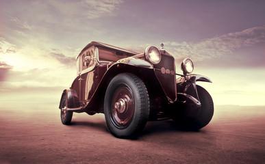 Fond de hotte en verre imprimé Vintage voitures Vintage luxury