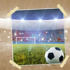 Soccer penalty kick snapshot