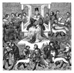 Medieval Court - 14th century