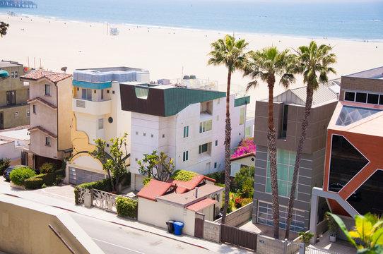 Pacific Coast in Santa Monica