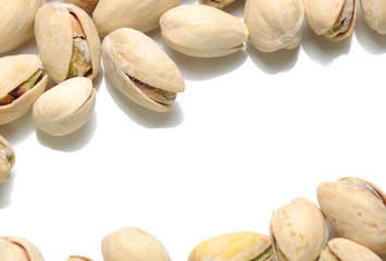 Salted pistachios pattern