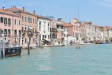 Foto op Canvas Gondolas veneza