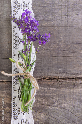 Lavendel Romantische Dekoration Stockfotos Und