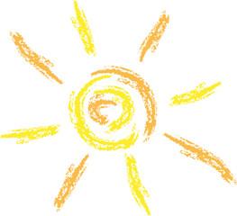 Sonne gezeichnet, Sun Logo