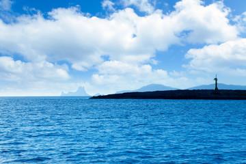Espalmador in formentera island with Gastabi islet